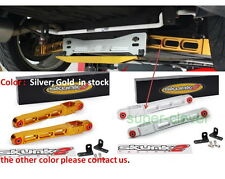 LOWER CONTROL ARMS Rear for Mitsubishi Mirage EVO Support Auto Silver Gold kit