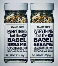 NEW Trader Joes Everything but the Bagel Sesame Seasoning Blend (2 Pack)