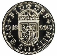 POLISHED SHILLING COINS ANY YEAR 1947 TO 1966 ENGLISH AND SCOTTISH PRESENT