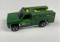 VTG 1974 Hot Wheels Green Forest Service Truck Mattel Diecast Toy Car