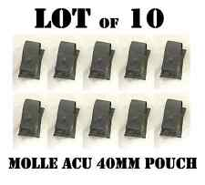 ACU MOLLE US ARMY SINGLE 40mm GRENADE M203 M320 POUCH VEST POCKET NEW LOT of 10