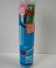 Dentek Orabrush Tongue Cleaner Helps Fight Bad Breath 4 Tongue Scrapers New