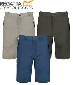 """Regatta Leesville Mens Quick Dry Lightweight Walking Short Zip Pockets 30-44"""""""