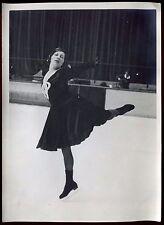 photo ancienne. patinage artistique. vers 1925/1930