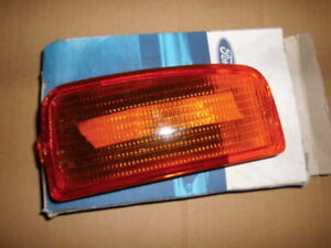 FORD MK4 FRONT right  HAND INDICATOR LIGHT LENS N.O.S.