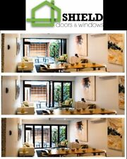 ALUMINIUM BIFOLD DOORS WINDOWS | CUSTOM SIZES | DOUBLE GLAZED