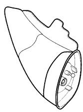 VAUXHALL REAR VIEW MIRROR - GENUINE NEW - 9134811
