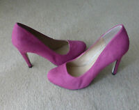 Asos Court Shoes In Pink Size 5