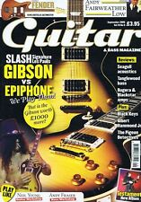 SLASH GIBSON VS EPIPHONE / ANDY FAIRWEATHER LOWGuitar & Bass magazineSep2008