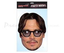 Jonny Depp Celebrity Character Face Mask Fancy Dress Party Face Mask