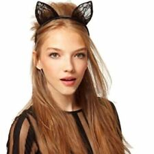 SUPER CUTE Cat Ears Hair Accessory Animal Halloween Party Costume