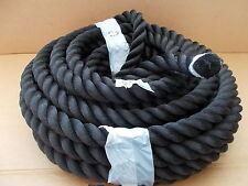 5m Strick Seil Tau Polypropylen gedreht DIN 83334-A 30mm (35mm) Klettern Boote