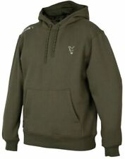 Fox Collection Green Silver Hoody NEW Fishing Hoodie *All Sizes*