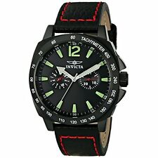 Invicta  Specialty 0857  Leather Chronograph  Watch