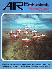 AIR ENTHUSIAST #21 APR-JUL 83: P-80 IN KOREA/ GAMECOCK/ VICKERS VIKING/ Do.24
