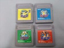 Game Boy Pokemon Green, Red, Blue, Yellow set - Japanese F/S