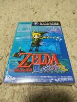 New The Legend of Zelda Wind Waker Kaze no Tact gamecube GC