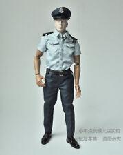 custom 1/6 Hongkong policeman uniform male suit clothes set