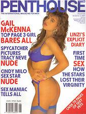 PENTHOUSE volume 22 number 12 gail mckenna mens adult glamour magazine
