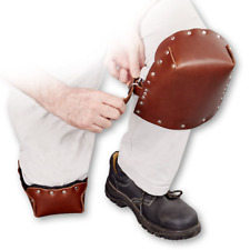 Leather Knee Pads Flooring Professionals Safety Work Trousers Kneepad