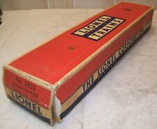Lionel Postwar 2533 Silver Cloud Pullman Car Original #2533- BOX ONLY ~ VG