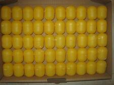 50 vacíos ü-huevo cápsulas en amarillo-bricolaje, rifa, boda