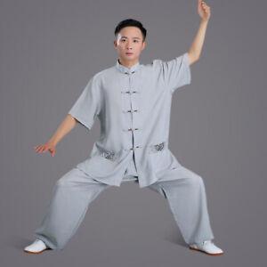 Chinese Traditional Kung Fu Tai Chi Uniform Martial Arts Wingchun Suit Tang Suit