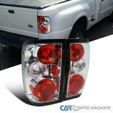 Ford 93-97 Ranger Pickup Tail Lights Brake Stop Rear Parking Lamps Chrome Clear