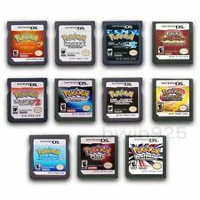 Pokemon Heartgold Soulsilver Jogo Cartão Para Nintendo DS 3DS NDSi NDS Versão para os EUA