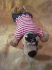 "Scooby Doo Warner Bros. Plush Scooby Pirate  Dog 10.5"""