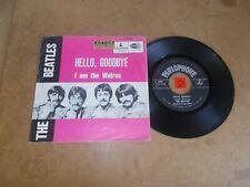 THE BEATLES - HELLO GOODBYE - I AM THE  - PARLOPHONE R 5655 BELGIUM / LISTEN
