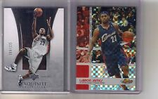 2) 04/05 06/07 Exquisite Topps Finest Lebron James Xfractor #/99 #/225 Lot