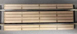 S Scale Crossing for Lionel(American Flyer) 2-rail Straight Fastrack system