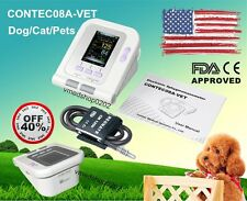 CONTEC08A-VET Digital Veterinary Blood Pressure Monitor For Pets/Dog/Cat+Cuff,US