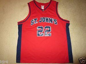 St. John's Red Storm #22 Basketball Jersey XL mens
