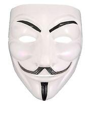 Vendetta Mask Anonymous V Guy Fawkes Fancy Dress Halloween Face Mask