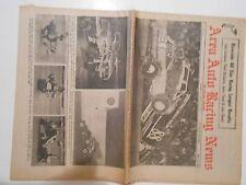 AUGUST 16,1972 AREA AUTO RACING NEWSPAPER,VAN HORN,SCHNEIDER,SIMPSON,FORCE,WEST