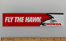 HONDA - FLY THE HAWK CB400T TI TII Motorcycle STICKER Decal