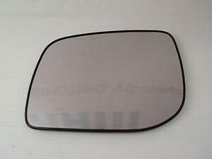 LAND ROVER DISCOVERY 3 DOOR MIRROR GLASS LH CONVEX - NEW MIRROR GLASS - LR017070