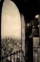 Naumburg Sachsen-Anhalt AK 1957 Blick vom Wenzelsturm Turm Stadt Dom DDR Glocke