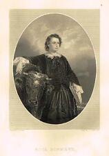 """Queenly Women"" by Williams - ""ROSA BONHEUR"" - Engraving - 1885"