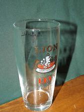 Lion Kralovsky Lev, .31 Liter Beer Glass, Product Of Czech Republic