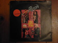"""POISON - talk dirty to me / look what the cat dragged in  SINGLE 7"""""""