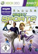 Kinect SPORTS (MICROSOFT XBOX 360, 2010, Dvd-Box) * BUONO *