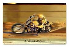 Motorcycle Race Car Metal Sign Man Cave Garage Body Shop Club Tom Fritz TF053