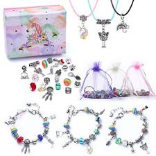 Girls Charm Bracelet Making Kit-DIY Jewellery Making Kit for Kids, Craft Sets