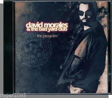 David Morales & The Bad Yard Club - The Program - New 1993, Mercury CD!