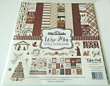 Echo Park Wise Men Still Seek Him 12x12 Collection Kit Paper Stickers  Christmas