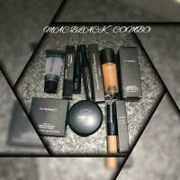 MAC BLACK COMBO SET OF 6 PIECES //100% ORIGINAL//FAST SHIPPING