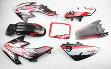 3M Decals Emblems Graphics Black Plastics CRF50 XR50 SSR DHZ Thumpstar Bikes #8